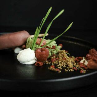 Frambozen magnum dessert Welgelegen Groenlo